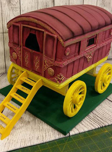 The Cake Forge Salisbury Wiltshire themed cake image